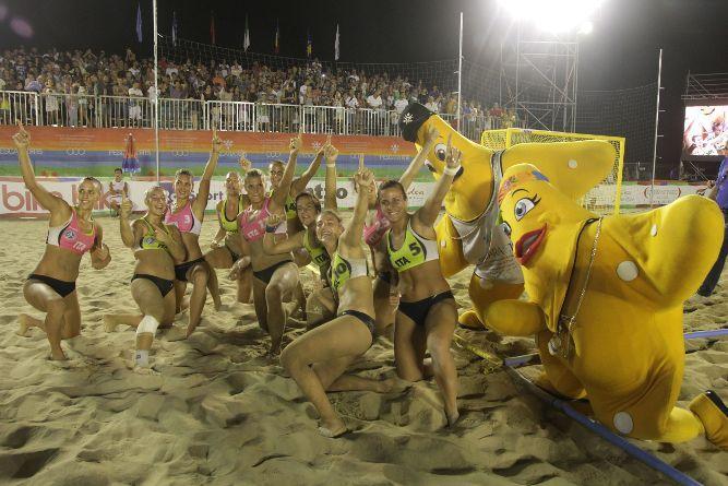 """Giochi sulla Spiaggia: altri """"ori"""" per l'Italia"""