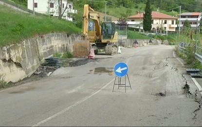 Maltempo in provincia di Teramo, cresce la preoccupazione per le strade