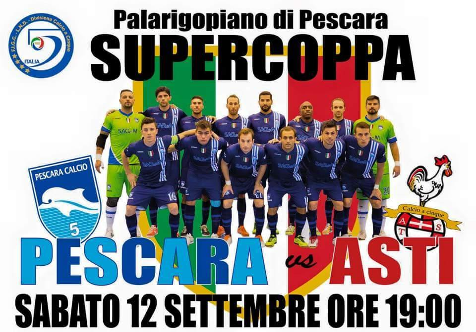 Finale di Supercoppa Pescara Vs Asti