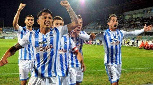 Pescara calcio, news allenamento