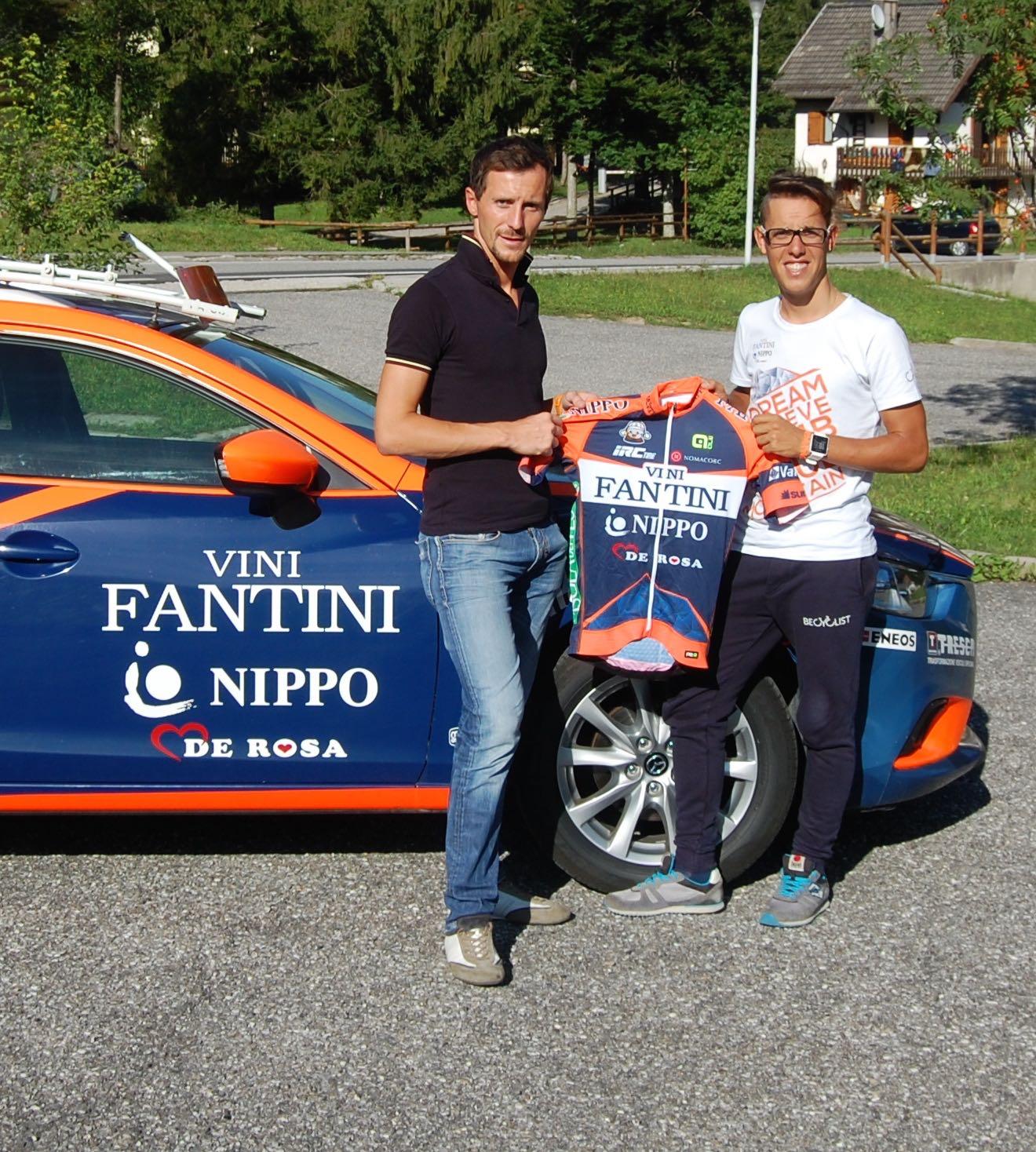 Ciclismo, la Nippo Vini Fantini scommette su Berlato