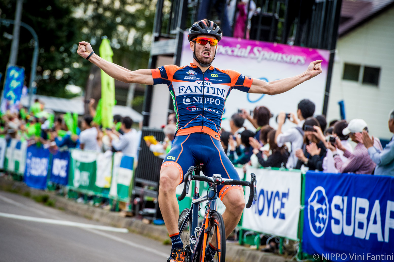 Ciclismo: Riccardo Stacchiotti vince in Giappone