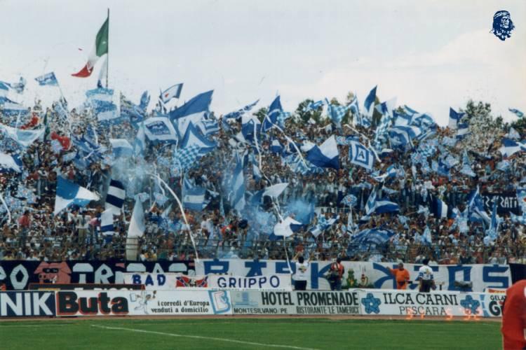 Pescara calcio: a Livorno con i tifosi al seguito