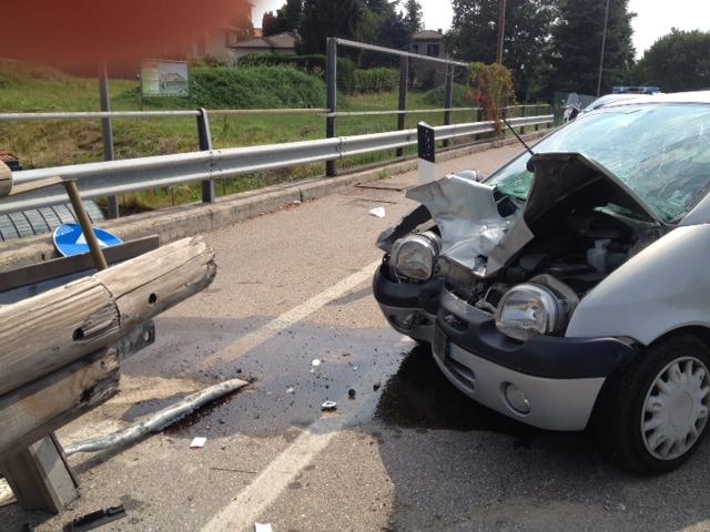 Pescara: incidente sull'asse attrezzato
