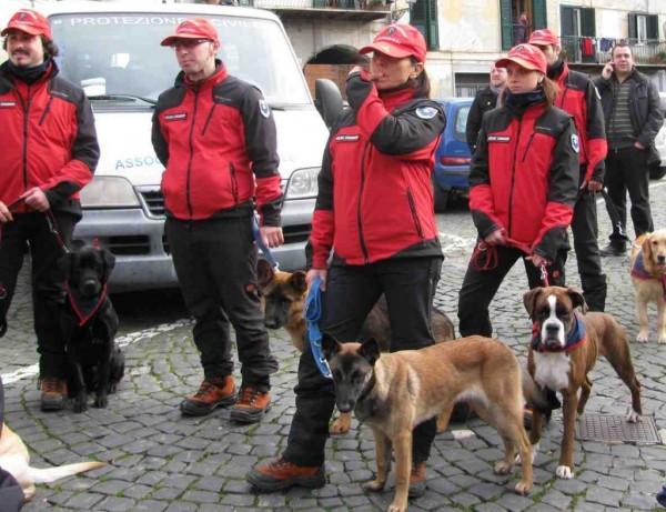 Bosco di Rigopiano: Salvata dai cani molecolari