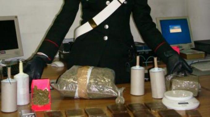5 Kg di esplosivo in casa: un arresto a Carsoli