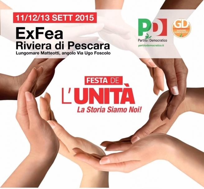 Festa dell'Unità a Pescara, stasera D'Alfonso