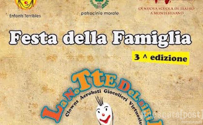 Festa della famiglia a Montesilvano: un vero successo