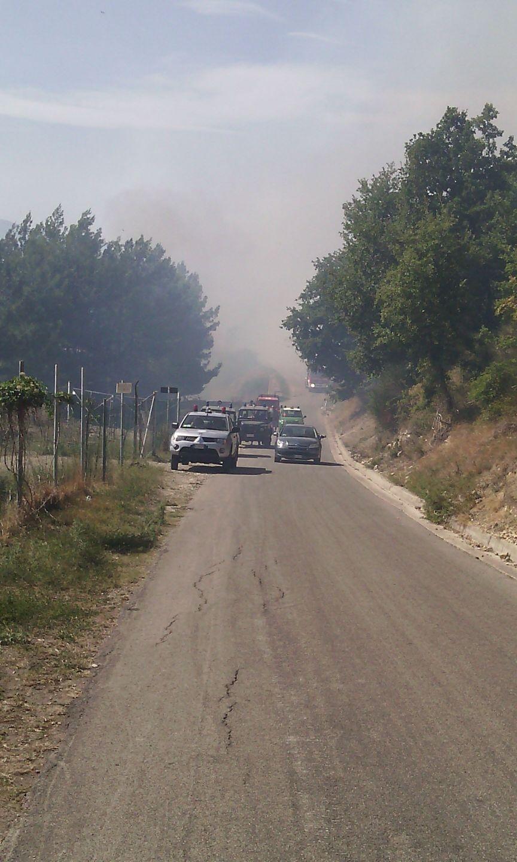 Incendio Liscia: in fumo 120 ettari, agente intossicato
