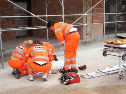 Incidente sul lavoro ad Avezzano. Operaio cade dal tetto