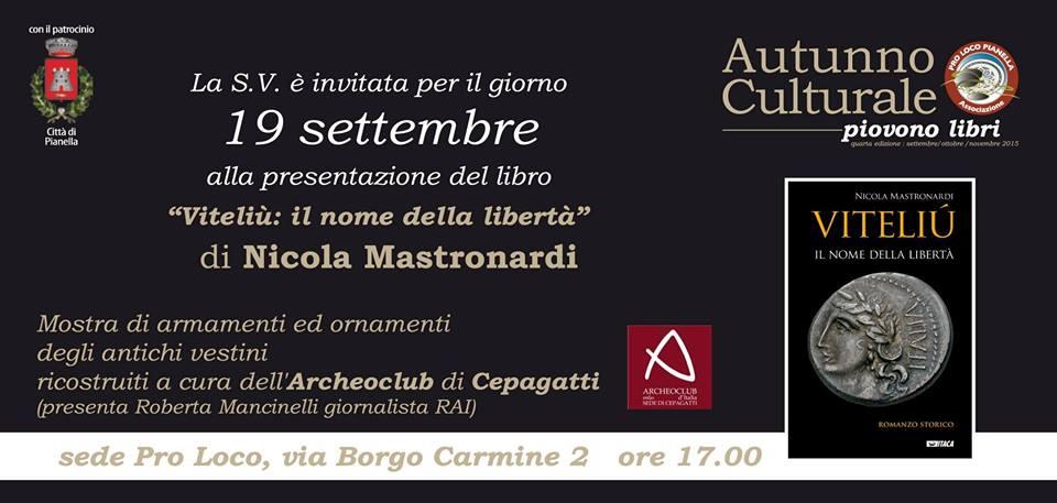 Pianella, torna l'autunno culturale della Pro Loco