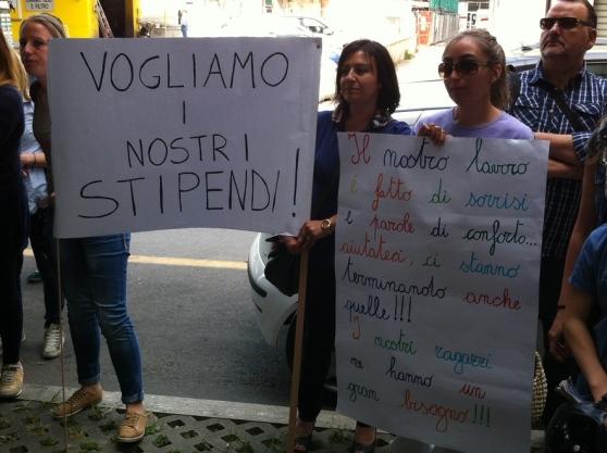 Vertenza Maiella Morrone- Da 9 mesi senza stipendio