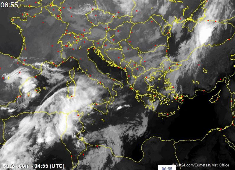 Abruzzo Meteo, nuovi annuvolamenti, addio estate?