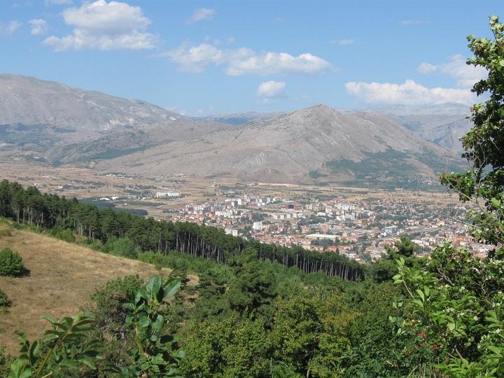 Ricovero su  Monte Salviano per selvatici feriti