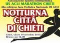 Notturna di Chieti, vince un etiope