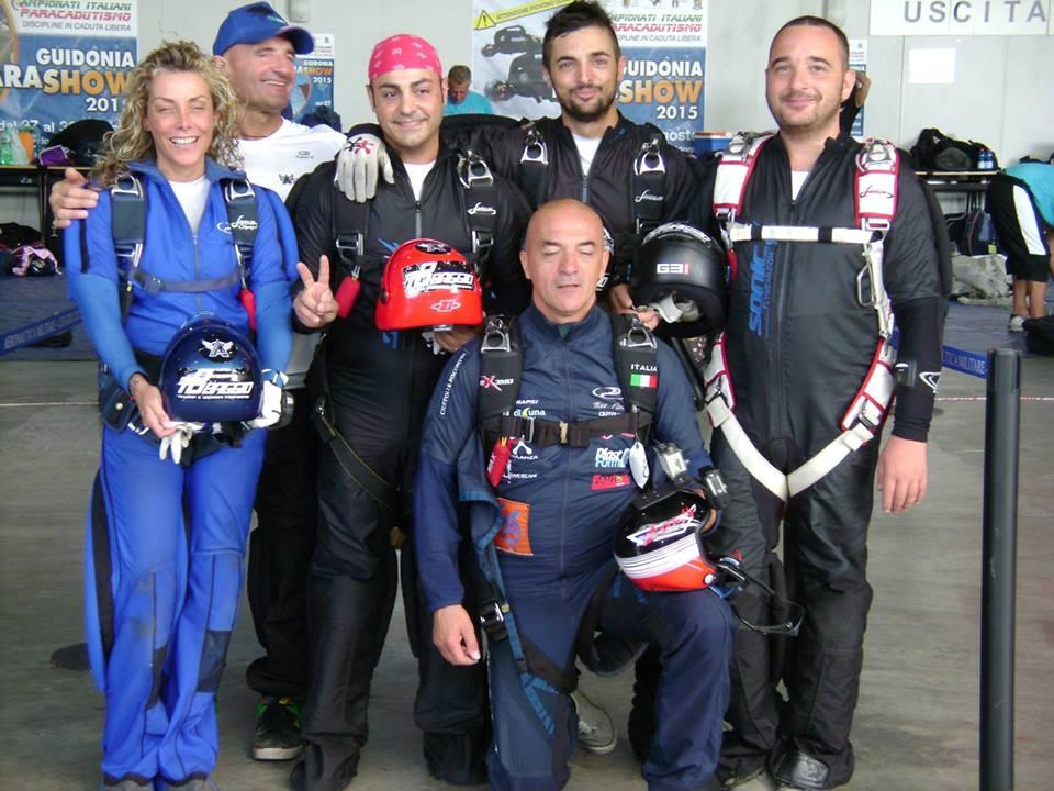 Paracadutismo: ad un pescarese l'oro ai Campionati Italiani