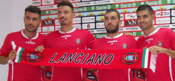Serie B: la Virtus Lanciano si presenta ai tifosi