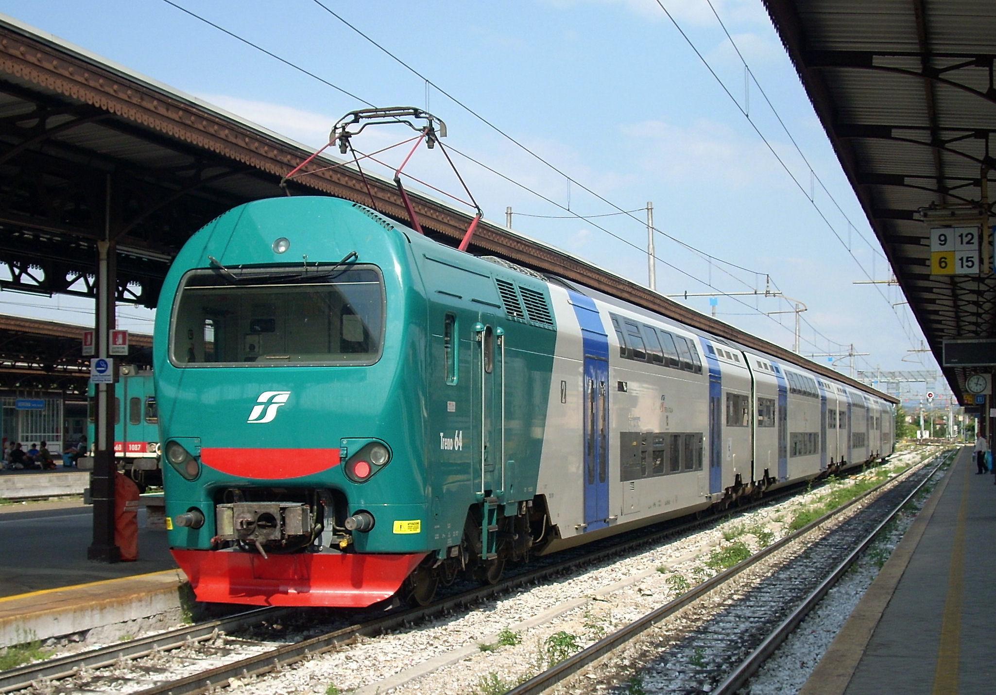 Pescara- Roma: il treno sarà più veloce