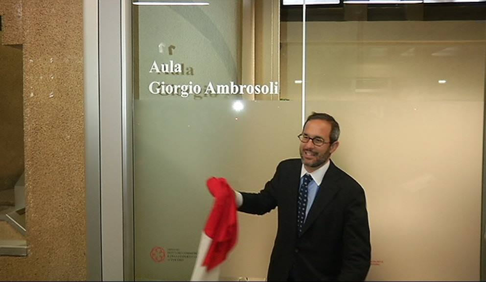 Teramo aula del tribunale intitolata a Giorgio Ambrosoli