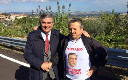 Penne, miracolo di D'Alfonso: oppositore… si converte