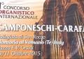 """Montorio, 1° """" Concorso organistico internazionale """""""