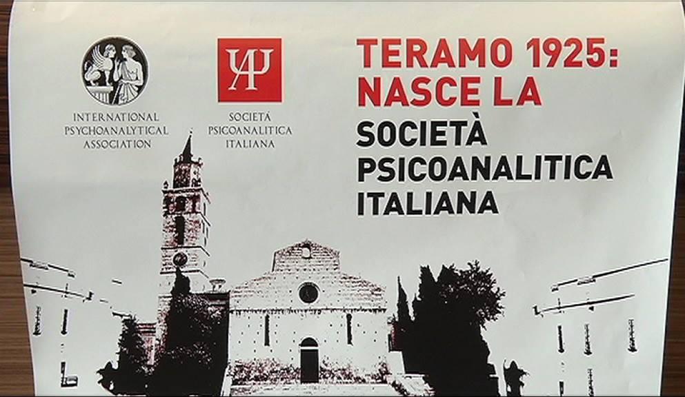 Teramo, 90 anni della Società Psicoanalitica Italiana
