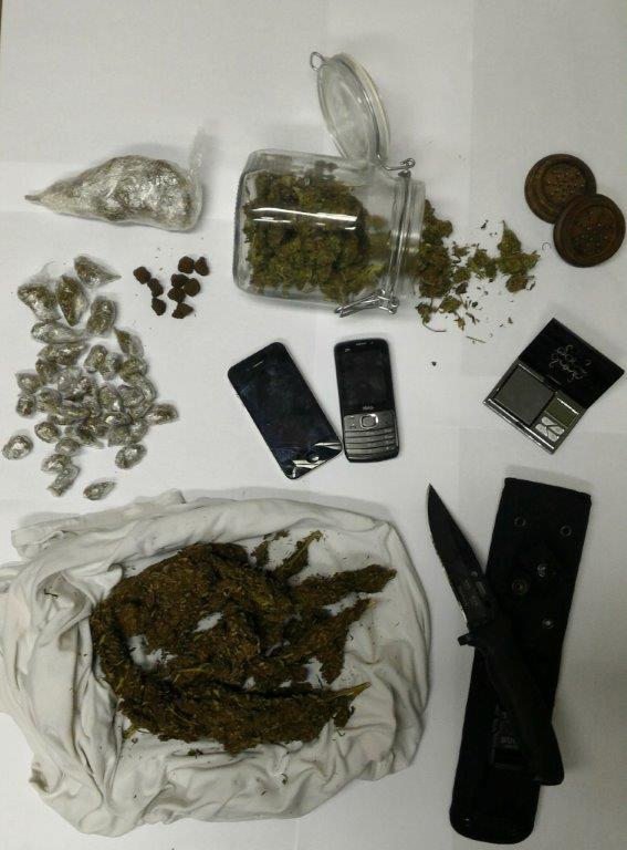 Arresti e denunce per droga nel chietino