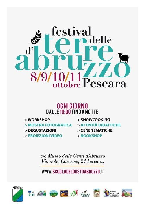 A Pescara il Festival delle Terre d'Abruzzo
