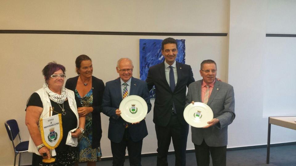 Montesilvano: Siglato gemellaggio con Lahenstein