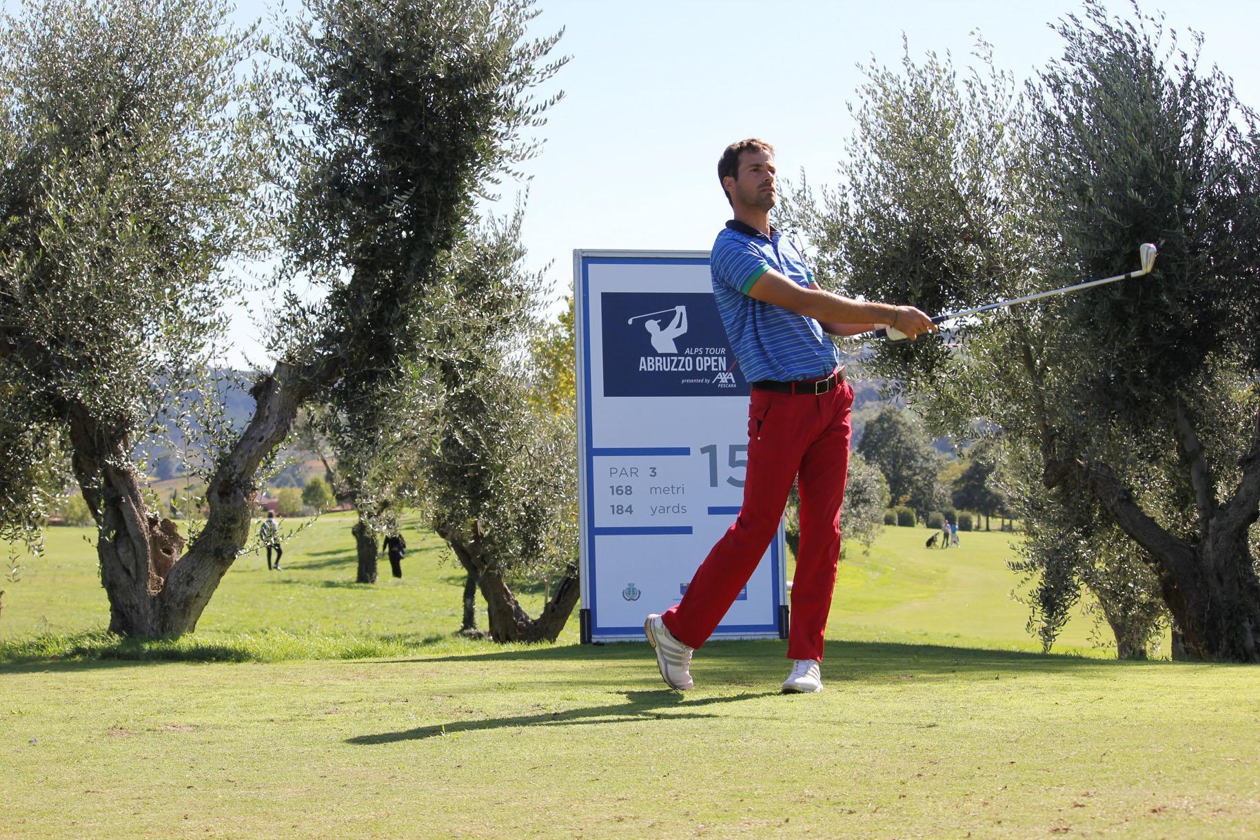 Golf Abruzzo Open: Azzurri protagonisti nel primo giro