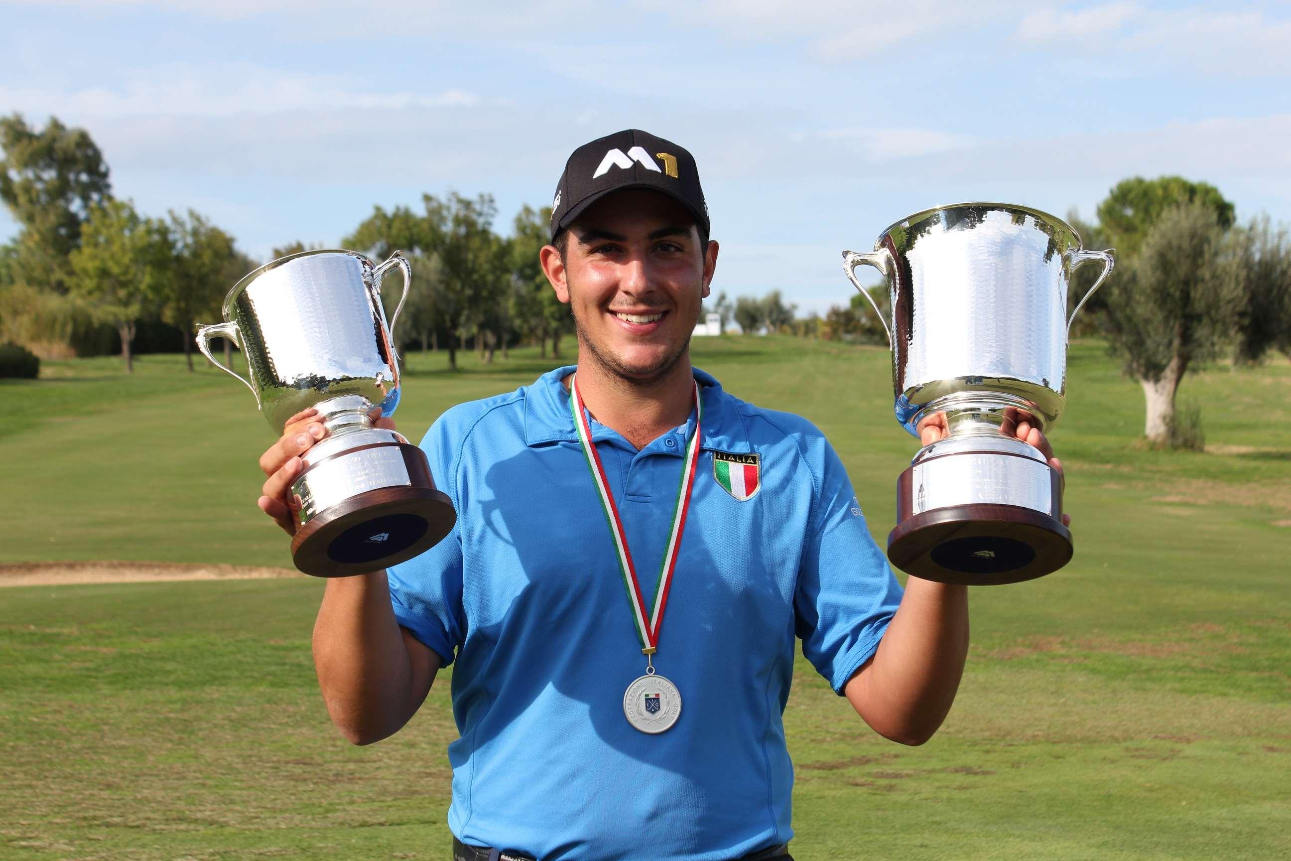 Golf: l'Abruzzo Open incorona Cianchetti