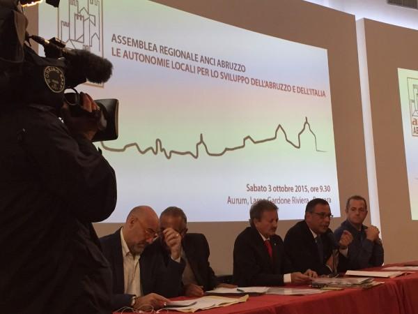 Assemblea Anci: Nuova alleanza tra Regione e Comuni