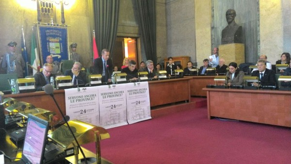 Province Abruzzo:  Presidenti a confronto
