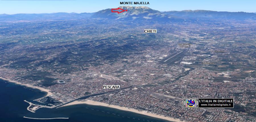 Il Parco Majella su Google Maps