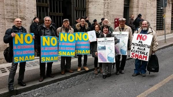 Riunione a Roma per la centrale Snam di Sulmona