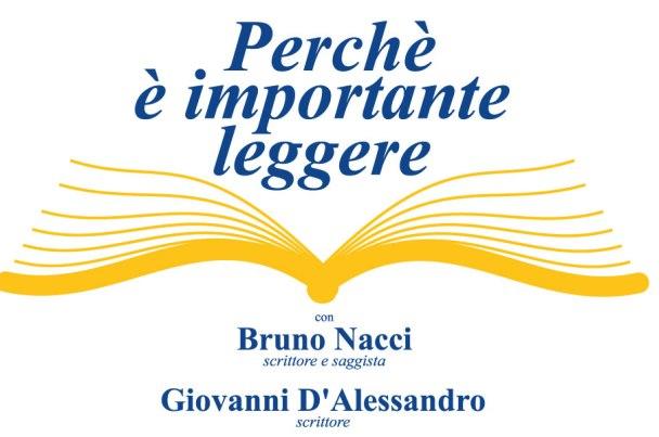 Lettura, gli scrittori Nacci e D'Alessandro a Pescara