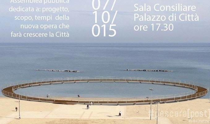Ponte del cielo a Pescara: Diffida del Centrodestra