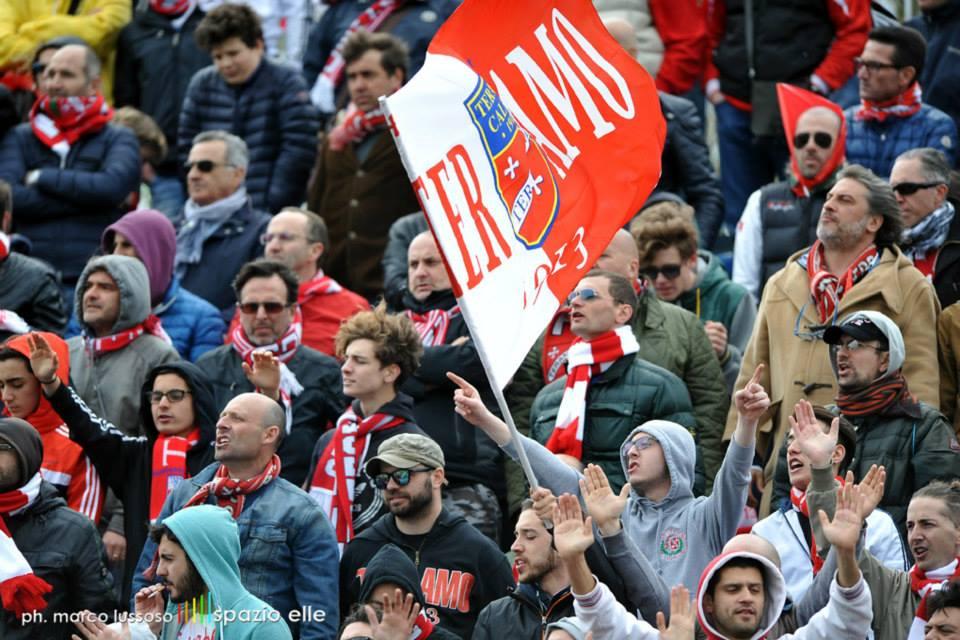 Teramo Casertana Coppa Italia live dalle 16