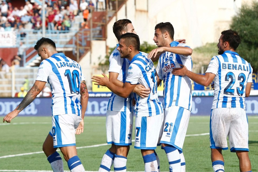 Pescara calcio. Notizie allenamento