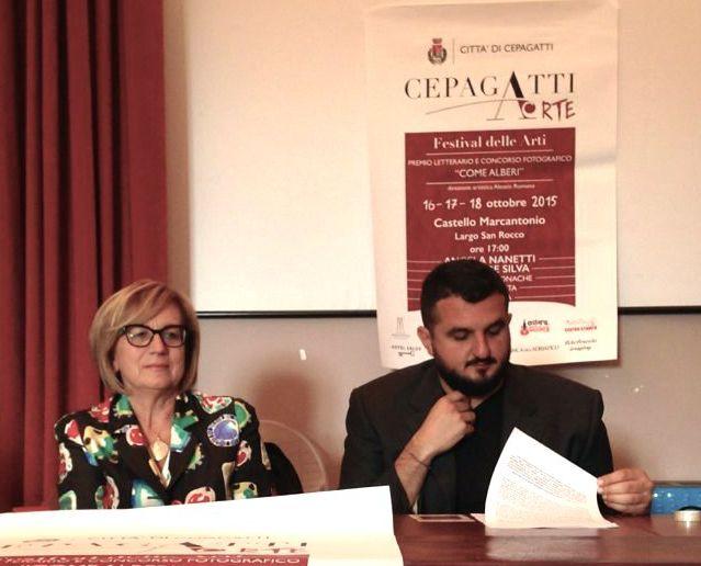 CepagattiArte con Nanetti e De Silva