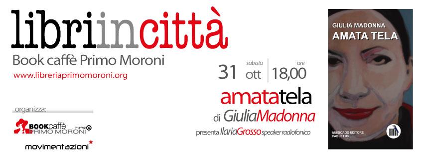 """Pescara: """"Amata Tela"""" di Giulia Madonna"""