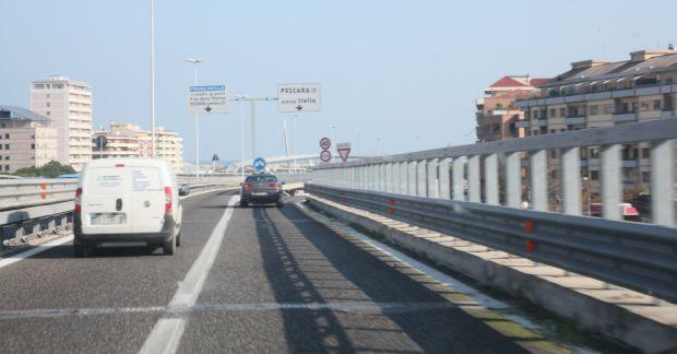 Asse attrezzato Pescara-Chieti: nuovi limiti di velocità