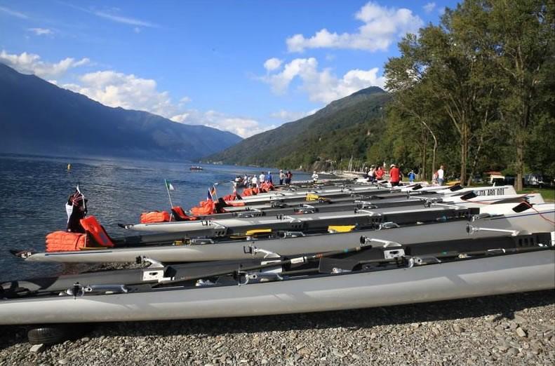 Sul Lago Maggiore il Campionato Italiano di Coastal Rowing