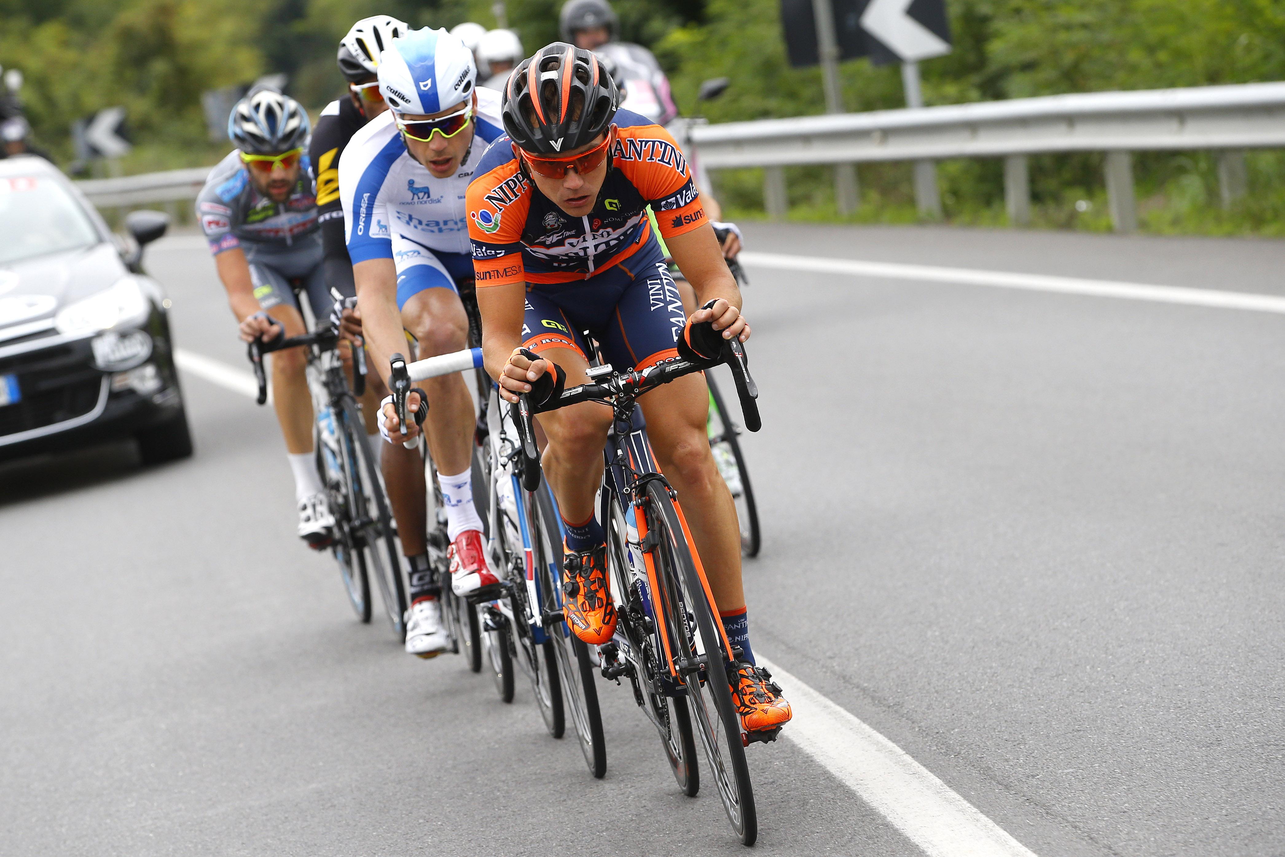 Ciclismo: sesto posto di Cunego alla Milano Torino