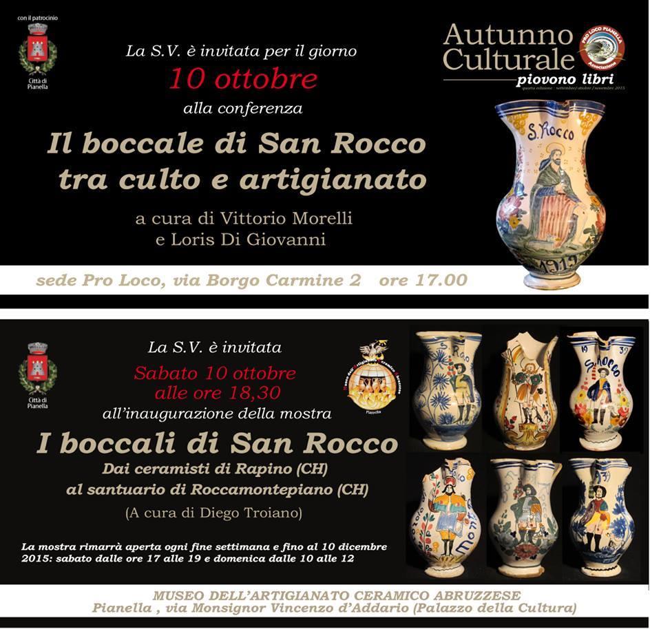 Boccale di San Rocco, incontro a Pianella