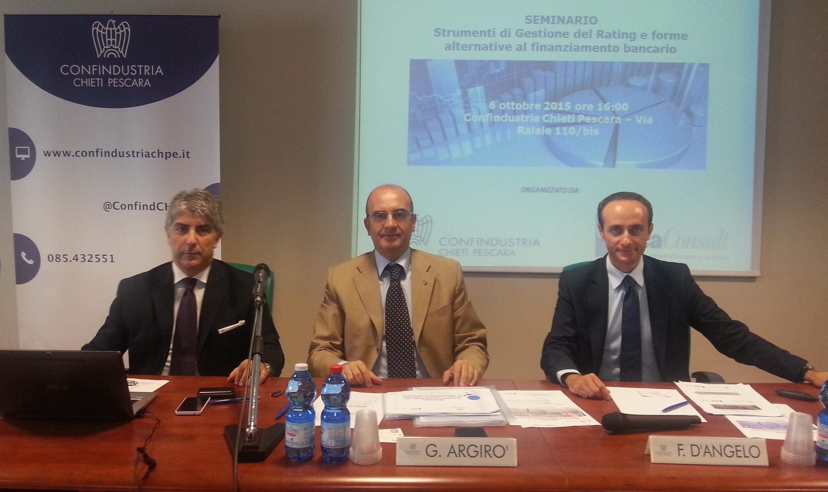 Economia Abruzzo: rating e finanziamento bancario