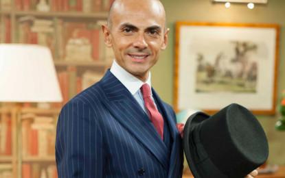 Enzo Miccio in Abruzzo per lezioni di…fashion