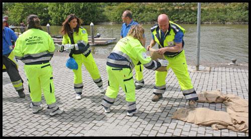 Esercitazione di protezione civile a Lanciano
