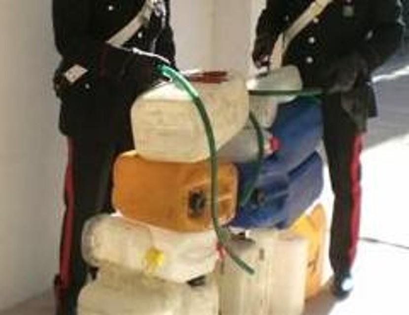 A Paganica dipendente ruba 40 litri di gasolio, denunciato