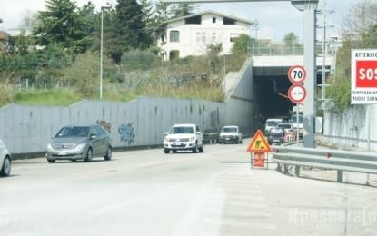 Chiusa per incidente galleria circonvallazione Pescara